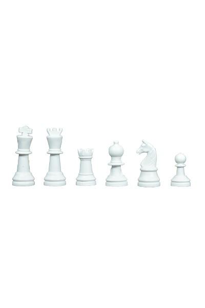 Μικρά πλαστικά κομμάτια σκάκι