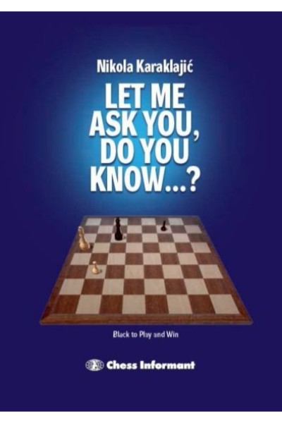 Let Me Ask You, Do You Know...?