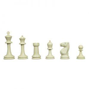 Μεγάλα πλαστικά κομμάτια σκάκι - Βάρος 790gr