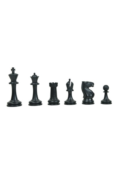 Μεγάλα βαριά πλαστικά κομμάτια σκάκι