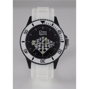 Σκακιστικό ρολόι χειρός, λευκό
